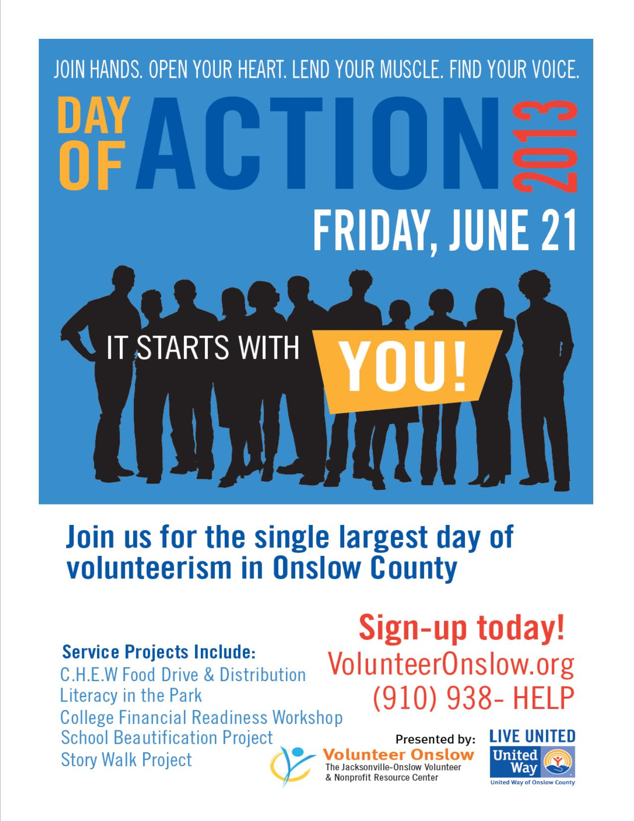 Day of Action 2013